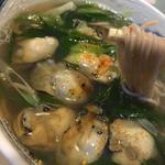 牡蠣そば(広島)