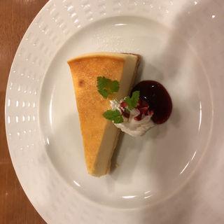 北海道産クリームチーズのベイクドチーズケーキ