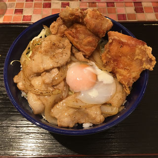 スタミナ野郎丼(うま塩)(キッチン 男の晩ごはん 吉祥寺店)