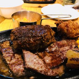 熟成ハンバーグ&ランプステーキ(Meat Winery (ミートワイナリー))