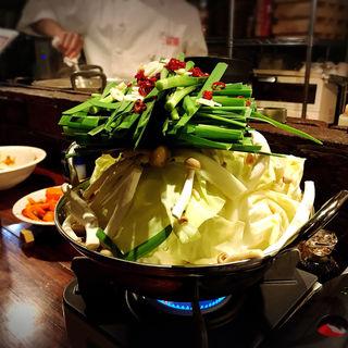 牛モツ鍋(いが嵐倉庫 )