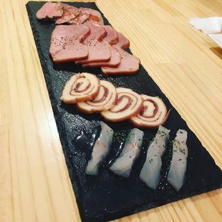 ハムとチーズのワンプレート(85cafe(ハコカフェ))