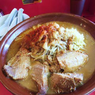大ラーメン+麺増し 計1kg(通称 ビグ・ザム)(池田屋 一乗寺店 )