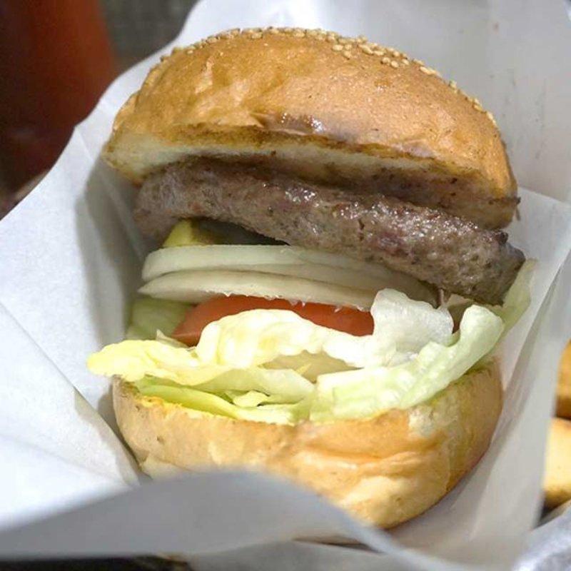 ハンバーガー・ポテト・ドリンク