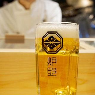 生ビール(博多炉端 炉邸)