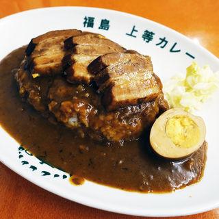 豚角煮カレー(得正・上等カレー 岸和田店 )