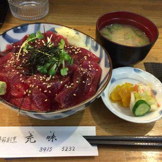 まぐろ漬丼定食(季節割烹 充味 (きせつかっぽう みつあじ))