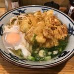 かき揚げうどん(ゆず屋製麺所)