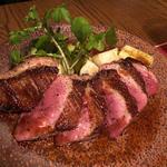 鴨肉のロースト バルサミコソース