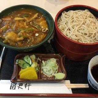 カレー丼定食(目黒更科 巣鴨店 (めぐろさらしな))