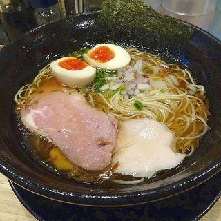 昔ながらの煮玉子中華そば(福島壱麺 (イチメン))