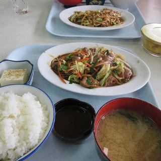 レバー定食(浜広 )