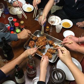 ザンギ食べ放題付き宴会コース(中国料理 布袋)