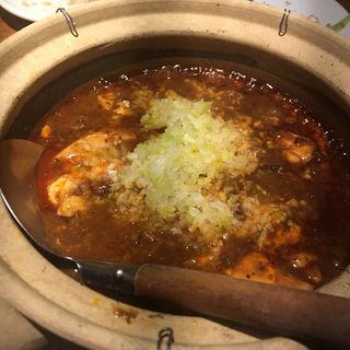 麻婆豆腐(黒猫夜 銀座店)