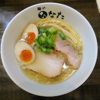 塩らーめん(味玉付き)(麺や ひなた)