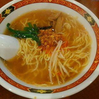 台湾ラーメン+半餃子セット(曽さんの店 代々木店 (ソサンノミセ))