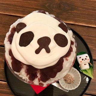 こおりのパンダ(サカノウエカフェ )