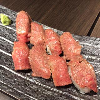 肉寿司(炭火焼ステーキハウス 听 銀座店)