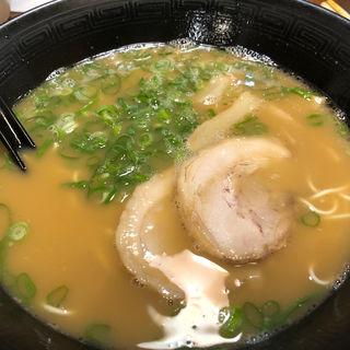とんこつ醤油ラーメン(めん吉 筑紫口ビル店 (めんきち))