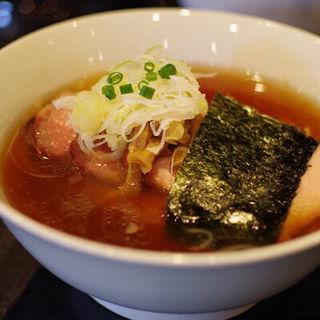 チャーシューメン(醤油)(支那ソバ 小むろ )