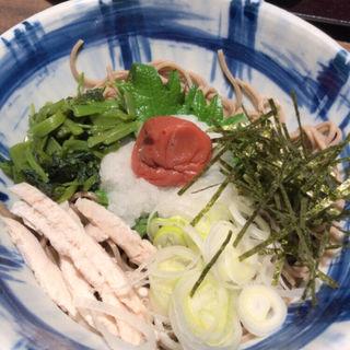 梅おろし蕎麦(そじ坊 なんばCITY (そじぼう))