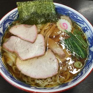 焼豚ワンタン麺(とら食堂 (とらしょくどう))