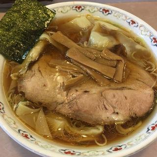 わんたん麺(春木屋 郡山分店 (はるきや))