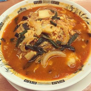 チゲ味噌ラーメン(日高屋 上野広小路店 )