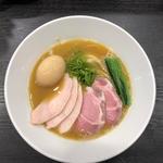 特製濃厚魚介ラーメン(麺や福はら)