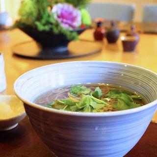 三つ葉蕎麦(打心蕎庵 (だしんそあん))
