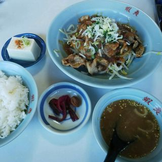 おろし焼き肉定食(三代目蝦夷 )