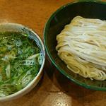 赤脚海老の塩つけ麺