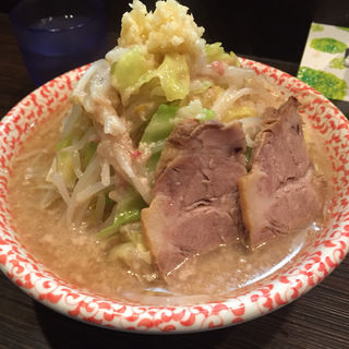 極太ストレート麺(ラーメン 鉉)