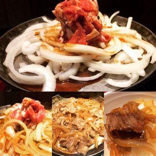 バラ焼きランチ(司バラ焼き大衆食堂 )