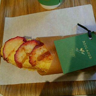 リンゴのタルティーヌ(ゴントラン シェリエ 渋谷店 (GONTRAN CHERRIER))