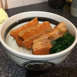 角煮ごはん(烈志笑魚油 麺香房 三く)