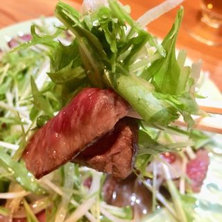 牛のタタキ(塩梅)