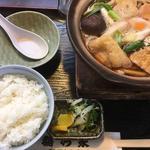 鍋焼きうどん定食(稲乃家 )