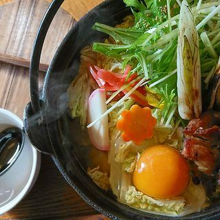 鍋焼きうどんしょうゆ(楽 (-GAKU-))
