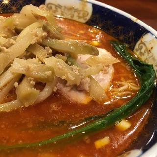 搾菜担々麺(支那麺 はしご 入船店 (しなめんはしご))