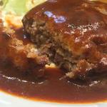ハンバーグステーキ定食(デミグラスソース)