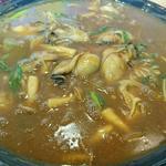 牡蠣と茸のカレーうどん(裏メニュー)