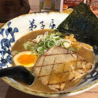 魚介しぼり醤油(弟子屈ラーメン 新千歳空港店)