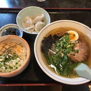 あご飯 ラーメンセット(五島軒)