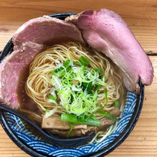 だししょうゆらーめん(極麺 青二犀 (ゴクメン アオニサイ))