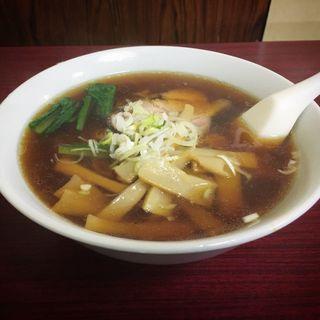 志那竹麺(栄屋ミルクホール (サカエヤミルクホール))