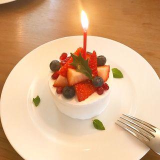 ベリーのケーキ(囀)