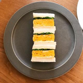 卵サンド(鹿の舟 囀)