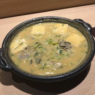 牡蠣土手鍋(食彩酒粋へいぞう )