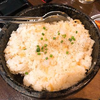 石焼きガーリックライス(俺の肉 )